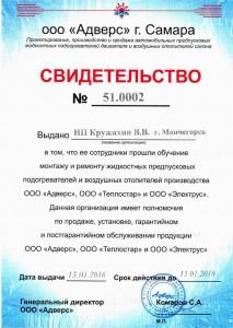 ИП Кружихин Свидетельство 51.0002